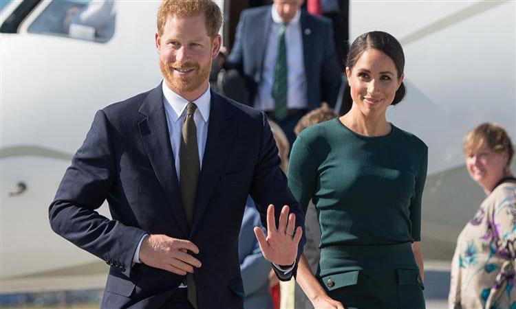 الأمير هاري وزوجته ميجان يزوران فيجي