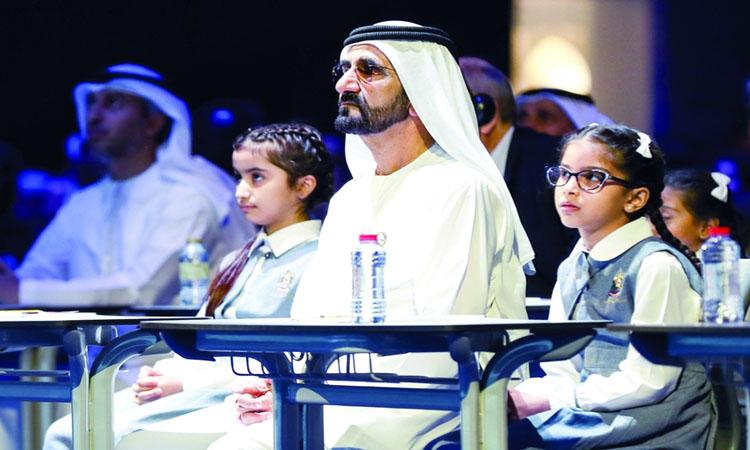محمد بن راشد ينهض بالتعليم عربياً
