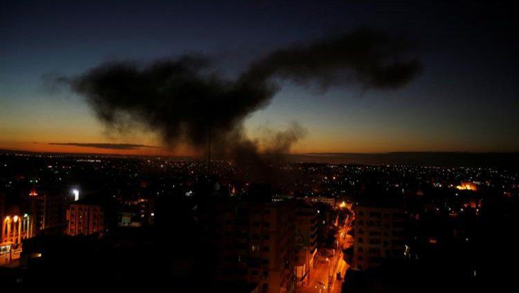 الطائرات الحربية الإسرائيلية تقصف 80 هدفاً في غزة