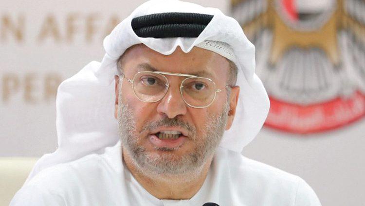 قرقاش: الجولة الجديدة من استهداف السعودية لن تنجح