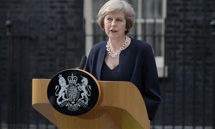 """ماي: الاتفاق الجمركي الذي يشمل كل بريطانيا مجرد """"تكهنات"""""""
