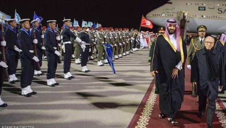 محمد بن سلمان يغادر تونس إلى الأرجنتين لحضور قمة العشرين