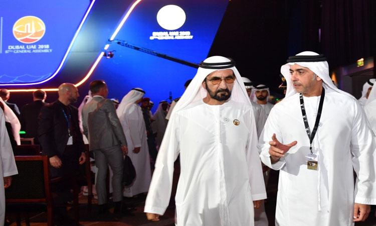 محمد بن راشد: الإمارات تضع كافة الإمكانيات لمكافحة الجريمة ليعيش الناس بأمان وسعادة