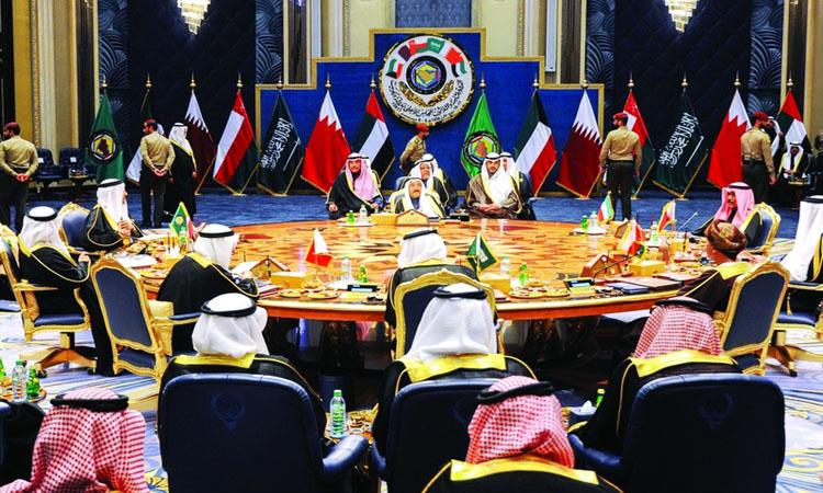 قادة الخليج يستكملون 39 عاماً من التعاون في قمة الرياض