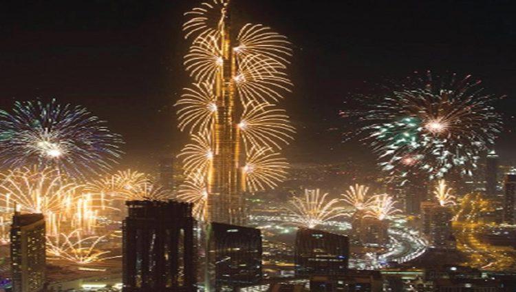 دبي الوجهة الأروع لعشاق الألعاب النارية