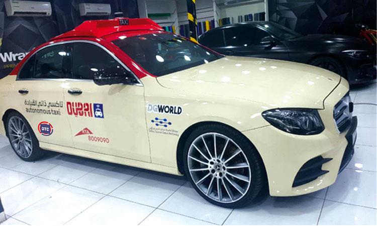 تشغيل تجريبي لمركبة الأجرة الذكية في دبي نهاية الشهر الجاري