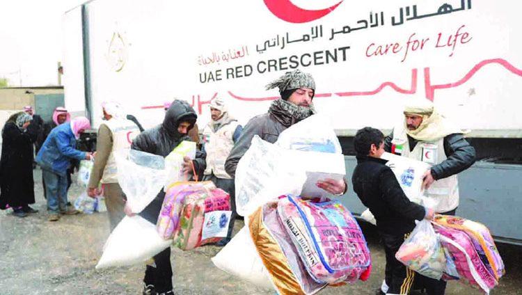 الإمارات تلعب دوراً فاعلاً في مساعدة اللاجئين حول العالم