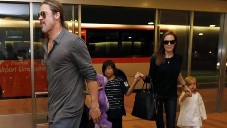 أنجلينا جولي وبراد بيت يتوصلان لاتفاق نهائي بشأن حضانة أبنائهما