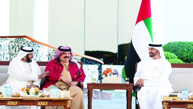 محمد بن زايد: حريصون على تعزيز علاقاتنا التاريخية مع البحرين