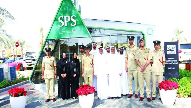 دبي تدشّن مركز شرطة ذكياً بـ6 لغات يعمل بالطاقة الشمسية