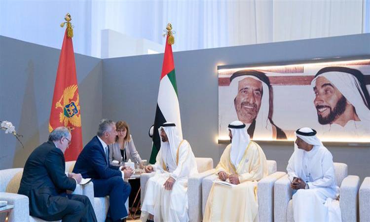 """محمد بن زايد يستقبل عدداً من قادة الدول المشاركين في قمة """"طاقة المستقبل"""""""