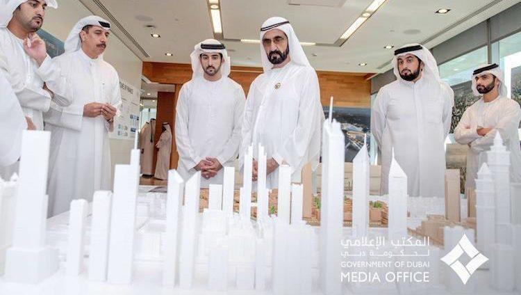 """محمد بن راشد يعتمد مرحلة جديدة في مسيرة تطور """"مركز دبي المالي العالمي"""""""