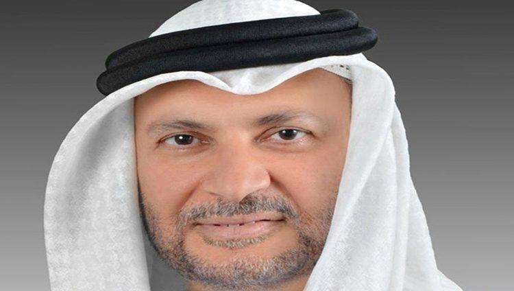 قرقاش: الإمارات ستواصل دعم استقرار المنطقة