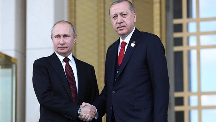 موسكو تستضيف قمة بين بوتين وأردوغان حول سوريا اليوم