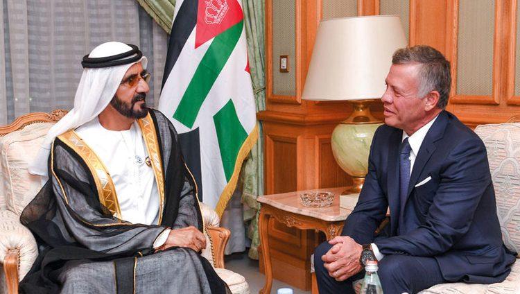 محمد بن راشد: الإمارات والأردن قلب واحد.. ويد واحدة
