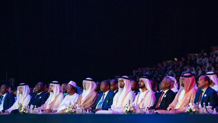 محمد بن راشد: سعدت برفقة أخي محمد بن زايد بافتتاح أسبوع أبوظبي للاستدامة