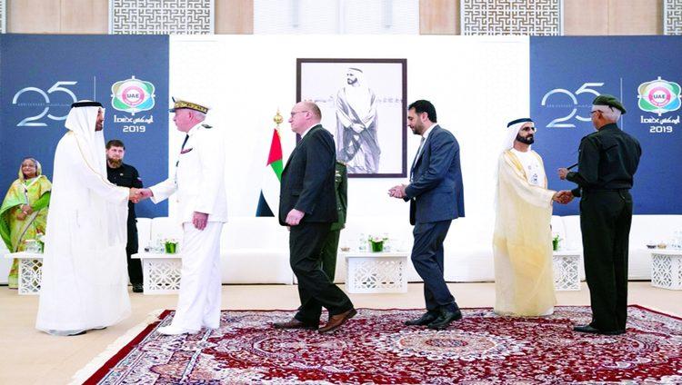 محمـد بن راشد ومحمد بن زايد: الإمارات تفتح أبوابهـا دائماً للأشقـاء والأصدقـاء