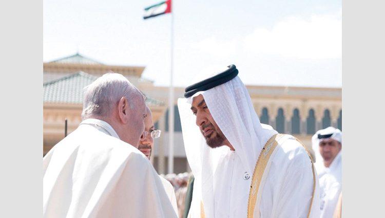 محمد بن زايد: الإمارات ستظــــل منارة المحبة والتسامح ومركز التقاء الثقافات وشعـــــاع أمل للسلام