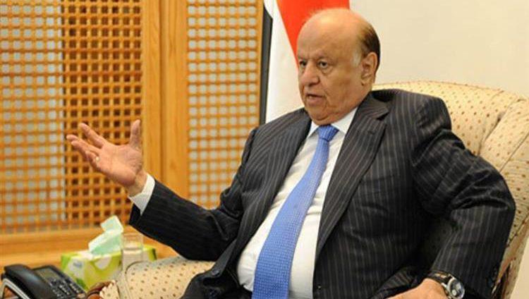 الرئيس اليمني: موعد النصر على ميليشيات الحوثي بات قريباً