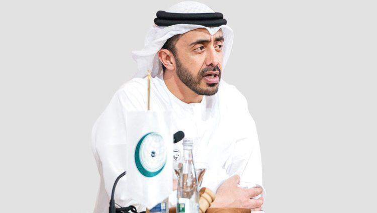 عبدالله بن زايد: الإمارات ملتزمة بدعم الـ«أونروا»