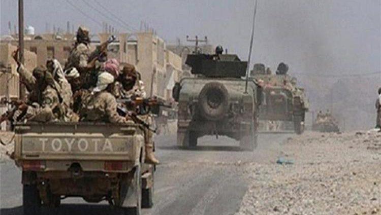 الجيش اليمني يستهدف تعزيزات لميليشيات الحوثي في الجوف