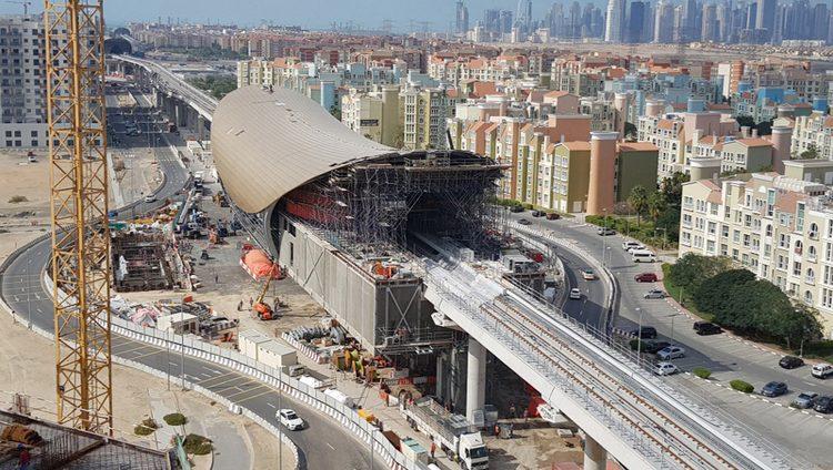 70 % نسبة إنجاز «مسار 2020» لتمديد مترو دبي إلى موقع «إكسبو»