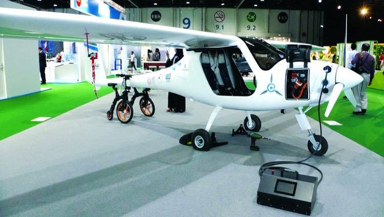 طائرة كهربائية إماراتية تحقّق حلم الطيران للأفراد قريباً
