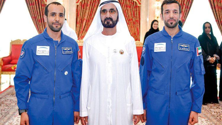 محمد بن راشد: المنصوري والنيادي يلهمان أجيالنا لتكون همتهم في الفضاء