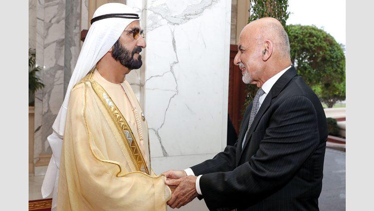 محمد بن راشد ومحمد بن زايد يؤكدان عمق العلاقات بين الإمارات وأفغانستان