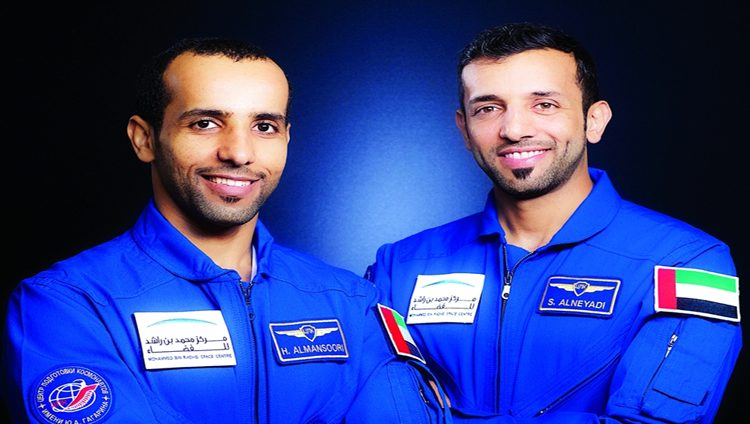 هزاع المنصوري إلى محطة الفضاء الدولية 25 سبتمبر المقبل