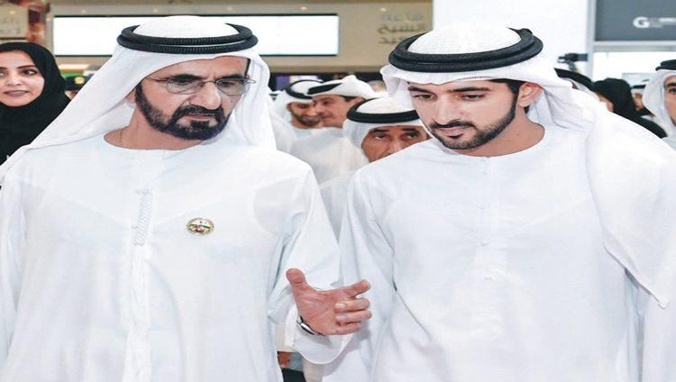 محمد بن راشد لحمدان بن محمد: لا تنسَ أن ترفع يدك بالفوز والنصر والحب
