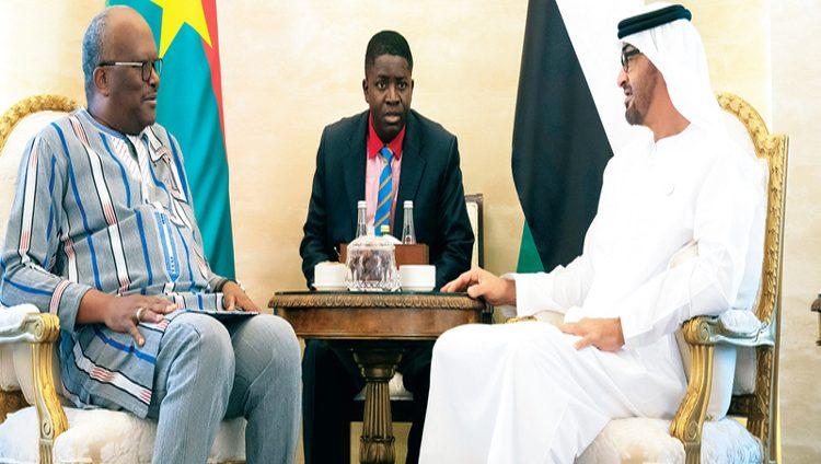 محمد بن زايد: الإمارات بقيادة خليفة تولي اهتماماً خاصاً للتعاون مع الدول الصديقة