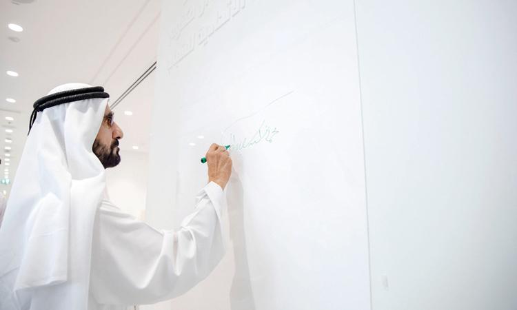 محمد بن راشد: تمكين الشباب وتأهيلهم يتصدران أولويات الحكومة