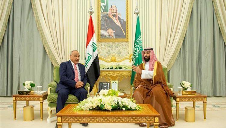محمد بن سلمان يبحث مع رئيس وزراء العراق تطوير التعاون وأوضاع المنطقة