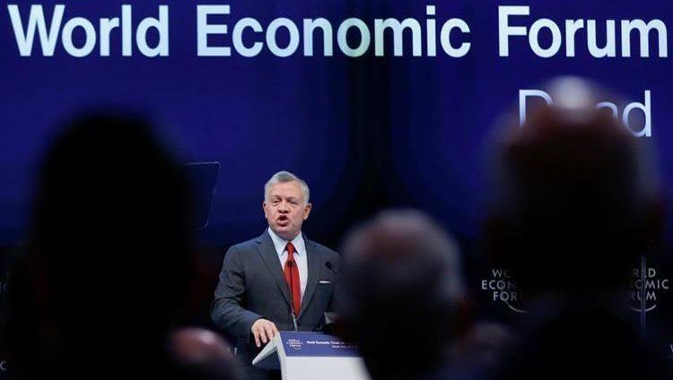 العاهل الأردني يفتتح أعمال المنتدى الاقتصادي العالمي