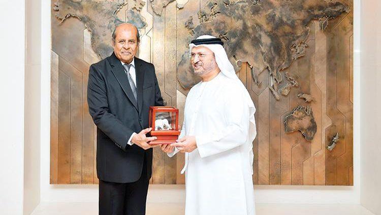 رئيس الدولة يتلقى رسالة من رئيس سريلانكا