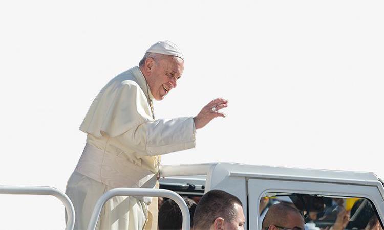 البابا فرانسيس: الإمارات والتسامح وجهان لعملة واحدة