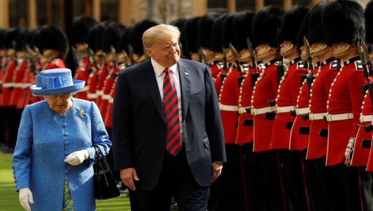 بعد امبراطور اليابان ترامب سيلتقي الملكة إليزابيث في بريطانيا