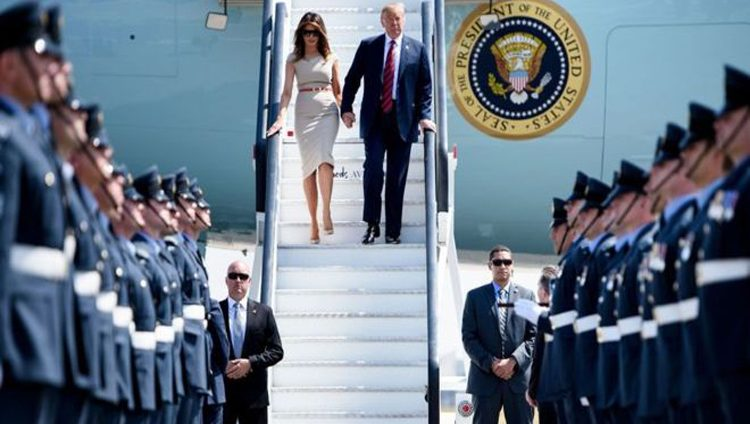 ماهي تكلفة زيارة ترامب إلى بريطانيا وما الذي يصطحبه في رحلاته ؟