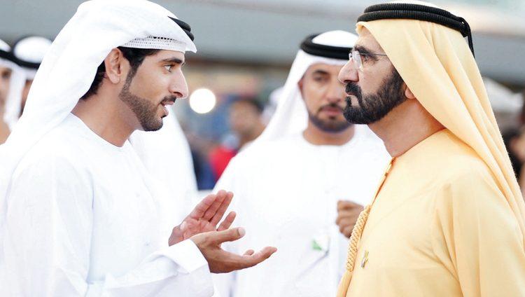 فرسان أفــــــراح الوطن.. حمدان بـن محمــد.. قيادة واثقة على خـطى محمد بن راشد