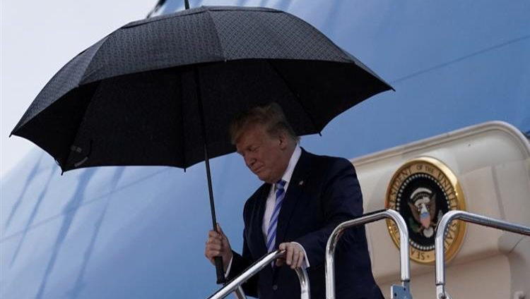 ترامب يصل أوساكا وسط إجراءات أمنية مشددة قبيل انطلاق قمة العشرين