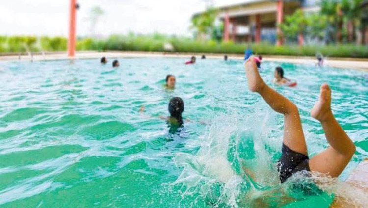 شرطة أبوظبي تدعو الأسر لوضع سياج آمن حول أحواض السباحة
