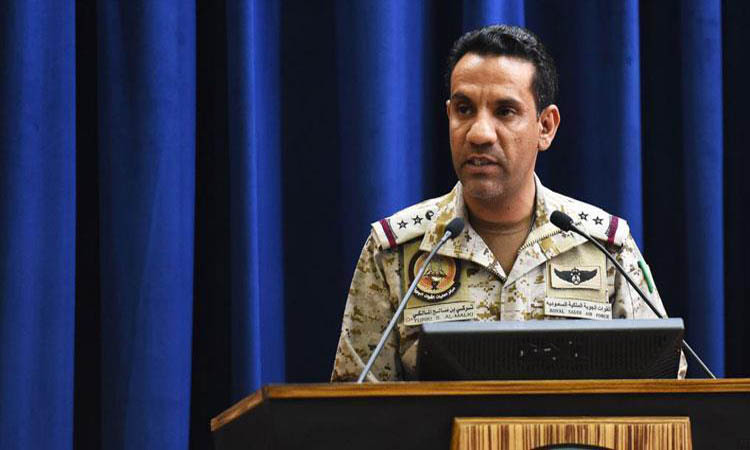 """""""التحالف"""" يعترض ويسقط طائرة مسيرة لميليشيات الحوثي باتجاه جازان"""