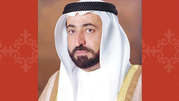 حاكم الشارقة يتقبل تعازي حامد بن زايد بوفاة خالد بن سلطان القاسمي