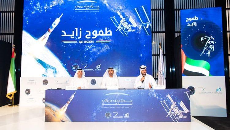 هزاع المنصوري أول عربي يشارك في الأبحاث العلمية بالفضاء بعد 29 يوماً
