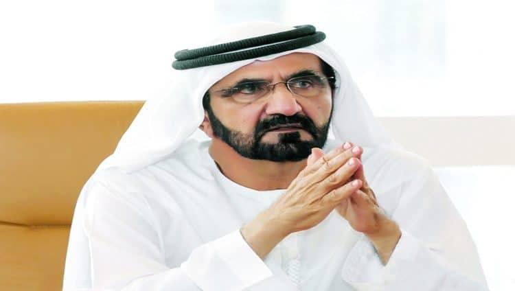 محمد بن راشد والحكام يحضرون أفراح آل نهيان وآل مكتوم