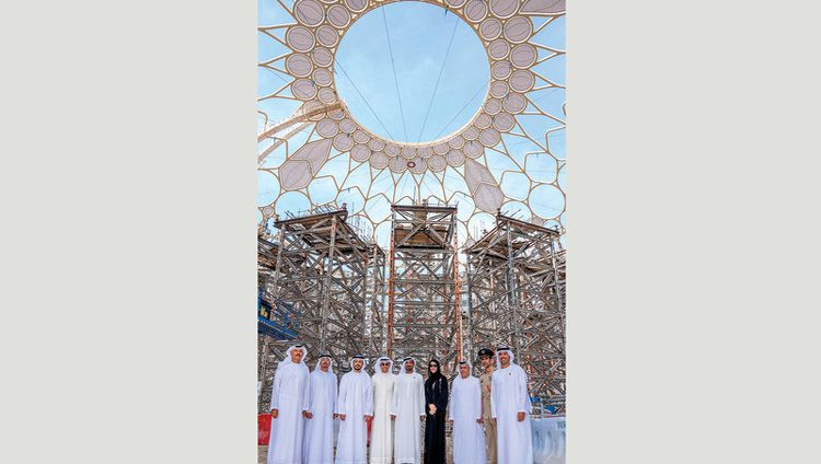 أحمد بن سعيد: قبة «ساحة الوصل» أيقونة عمرانية جديدة وثمرة عمل مشترك