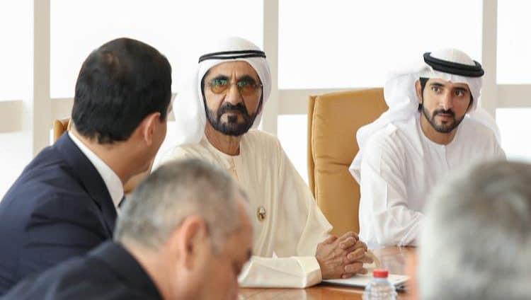 محمد بن راشد يطلع على تطورات الشراكة في التحديث الحكومي بين الإمارات وأوزبكستان