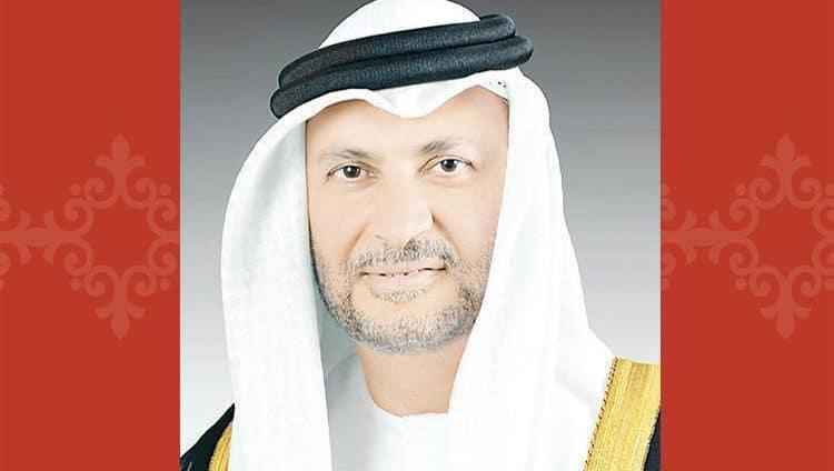 قرقاش: نتطلع بثقة إلى نجاح اجتماع جدة بين حكومة اليمن والمجلس الانتقالي الجنوبي
