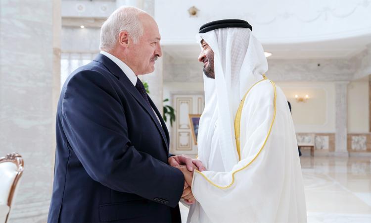 محمد بن زايد: الإمارات تتبنَّى التعاون والشراكة عالمياً
